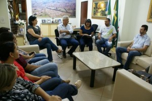 Foto: Dilermano Alves - Momento da posse do Conselho Municipal de Assistência Social de Caarapó; mandato vai até setembro de 2019