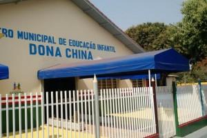Foto: Dilermano Alves - Centro Municipal de Educação Infantil Dona China foi ampliado e recebe autoridades na tarde de hoje para entrega das obras