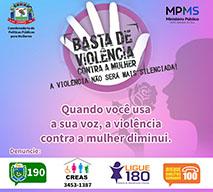 Campanha Violência contra Mulher
